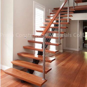 Charmant Prefab Metal Stairs Residential Straight Staircase For Sale