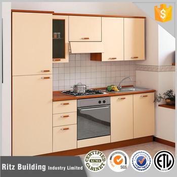 Kecil Desain Kabinet Dapur Kayu Solid