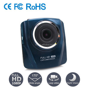 Mini SD Card Storage 140 Degree Angle Loop Recording H.264 Full HD Car Dash Video Camera