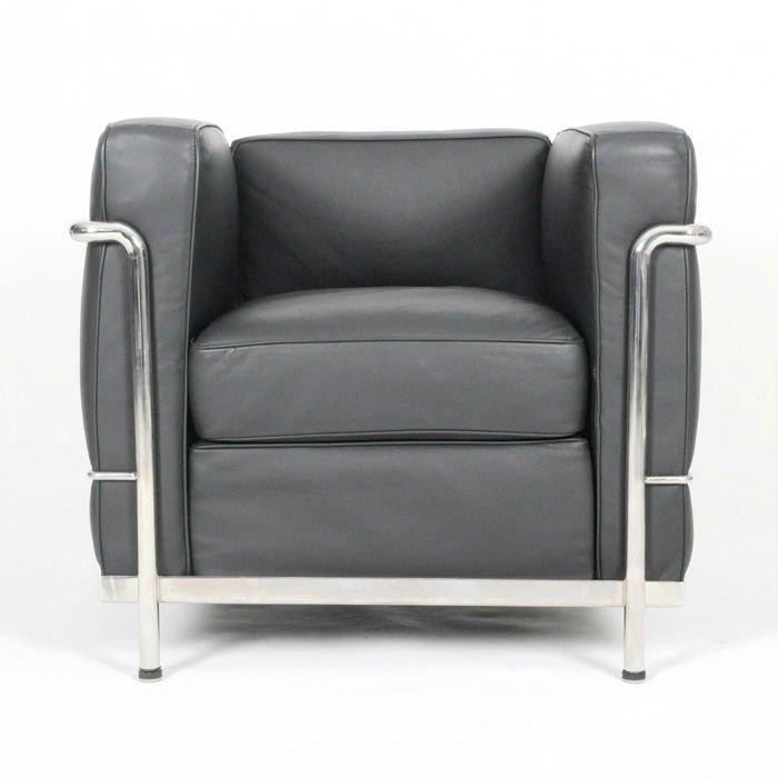 lc2 le corbusier lehnsessel loveseat sofa metalstuhl produkt id 133625180. Black Bedroom Furniture Sets. Home Design Ideas