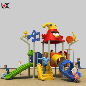 Anti-static amusement park toys, children playground slide, outdoor playground equipment
