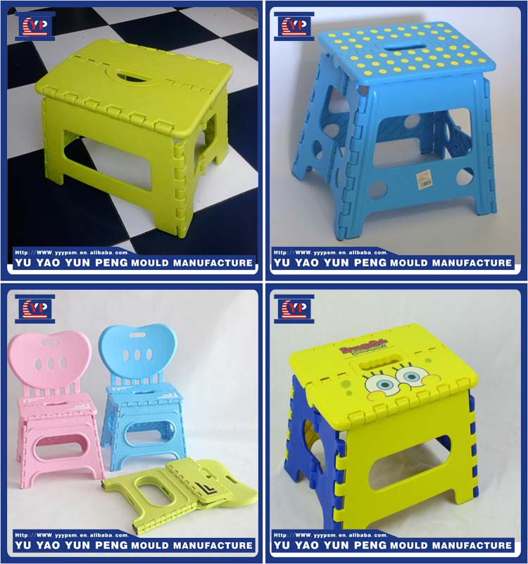 Customized design for plastic injection folding chair bench mold/mould