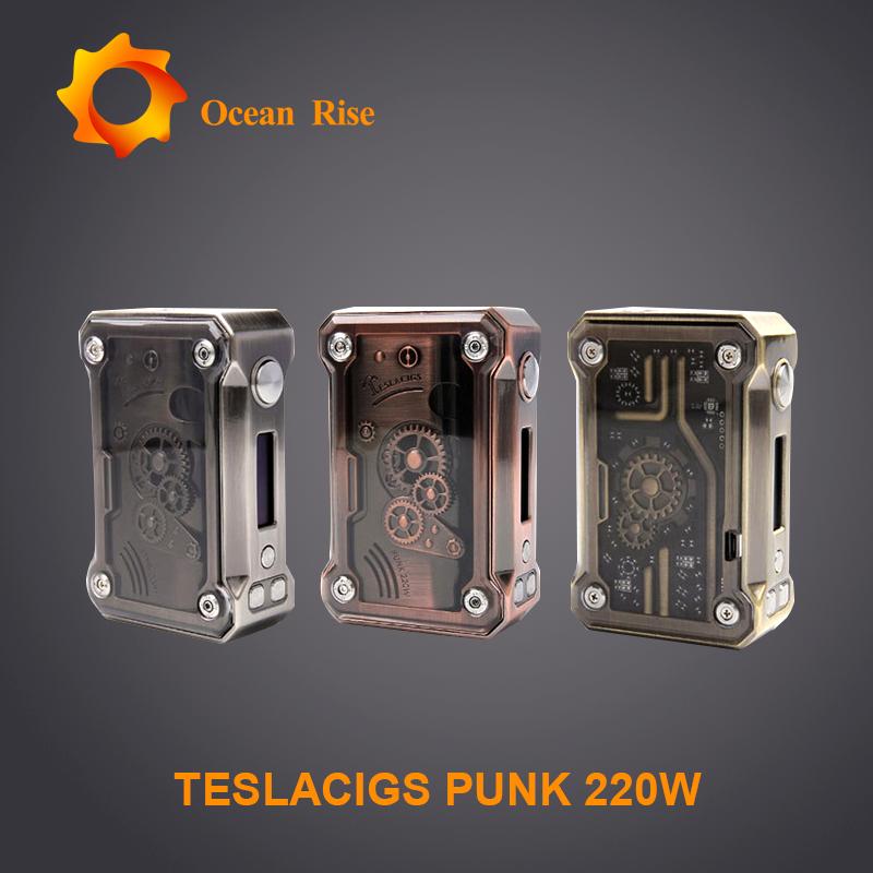Tesla Steampunk caja