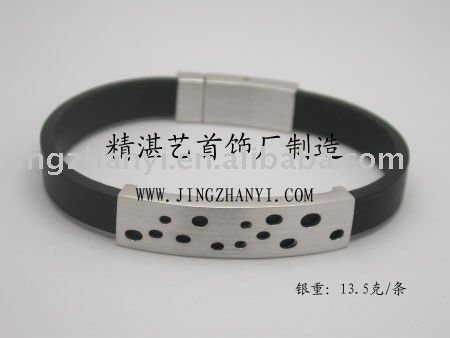 magnetic silver 925 anniversary enamel bangle