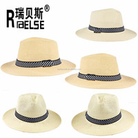 promotion hat cheap panama men hat wholesale paper straw hat