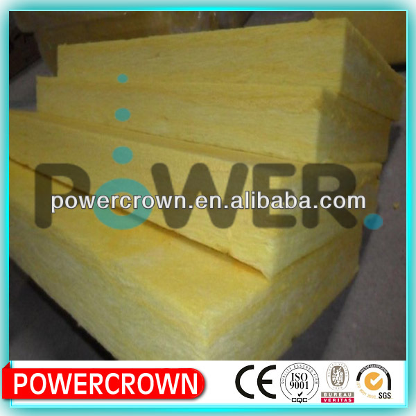 Excellent R-value glass wool batts for contruction