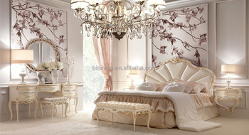Bisini French Style New Classic Bedroom Furniture Royal Bedroom