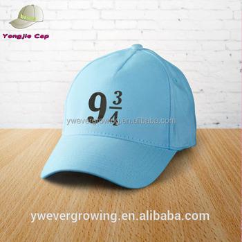 wholesale custom Embroidered Cap Harry Potter Cap Platform 9 Cotton cap  Baseball tracker Potter trucker Harry d9e1066de78