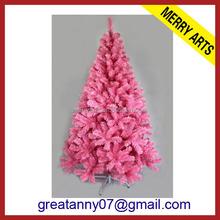 Kunstlicher weihnachtsbaum in pink