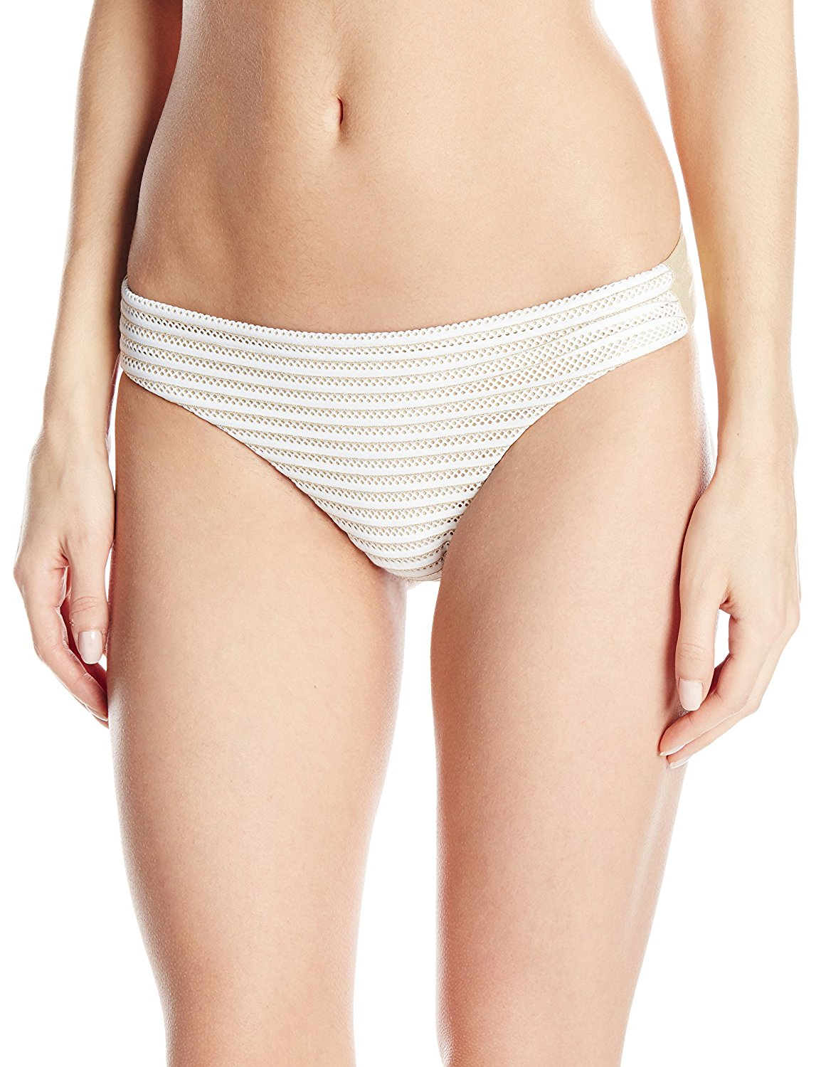 Get Quotations · Luli Fama Women s Moon Over Miami Seamless Full Bikini  Bottom 50af758d2