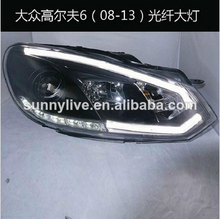 For VW Golf 6 LED Headlight 2009 -11 SONAR Style