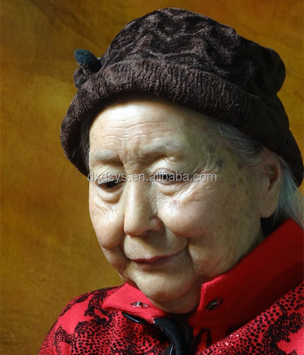 Grandma Lifelike Full Size Silicone Wax Figure