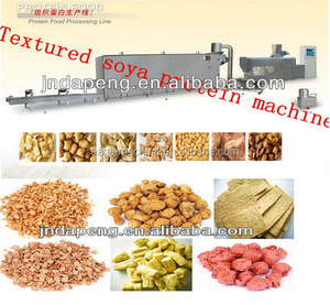 DP85 100-400kg/h Soybean protein food processing line/ artificial meat machine, manufacture line in china