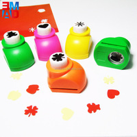 Fancy custom made design mini paper hole punch craft flower punch
