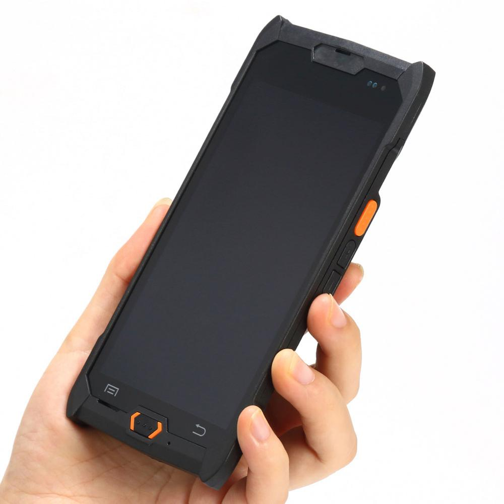 Cheapest Factory 5 inch Android 6.0 NFC 1D 2D Barcode Scanner Handheld Terminal Phone Rugged IP67