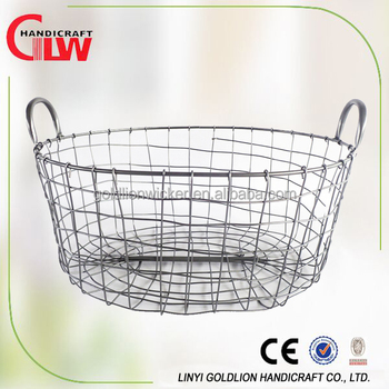 Hot Selling Oval Wire Storage Basket Decorative Wire Egg Basket Wholesale Buy Wholesale Wire Baskets Wire Basket Decorative Wire Egg Basket