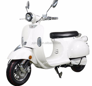 EEC Certificate 60 v/2000w vespa electric scooter with removeable battery