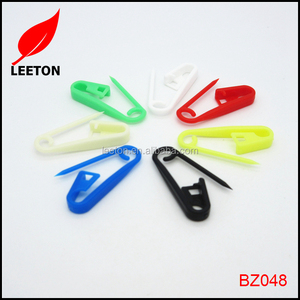 Cheapest colorful cheap plastic safety pin