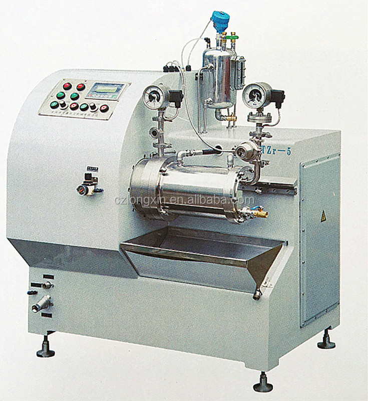 Longxin Professional Lab Turbo Superfine Nano Sand Mill for Digital Jet Printing Ink Grinding (WST-5)