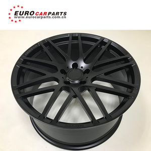 G class w463 B style forged steel material Black color wheels fit for G63  G65 G500 G55 G900 22 inches Automobile hub