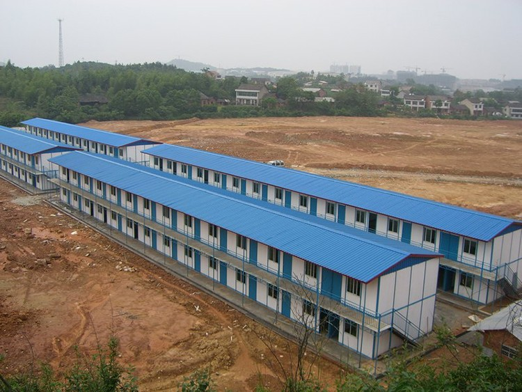 labor camp prefabricated buildings