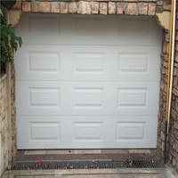 Galvanized Steel PU Foam Automatic Folding Sectional Garage Door Panels Sale
