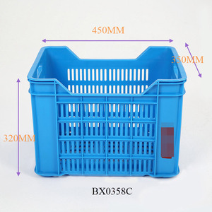 Plastic Food Grade Potato Tomato Farm Vegetable Storage crates