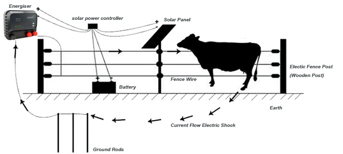 new products electric fence energizer for animal fence