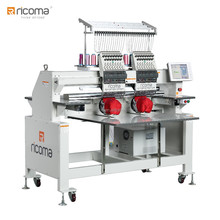 RiCOMA hot sale TWO head embroidery machine