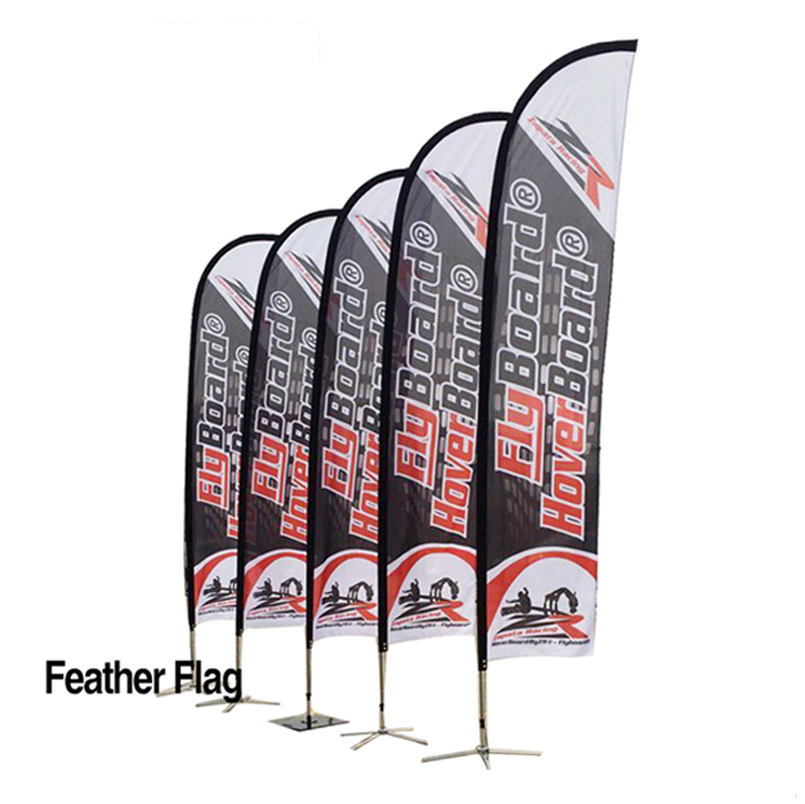 7290e6378d494 Custom Double Side Printed Beach Flag Feather Teardrop Flying Flag Banner -  Buy Double Side Teardrop Banner,Double Side Beach Flag,Teardrop Flying ...
