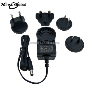 12V Lead-acid Battery Charger 14.6V 1A 1.5A 2A interchangeable AC plug charger UL CE GS RCM SAA approved