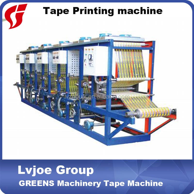 bopp tape printing machine / gravure printing machine for printing bopp film