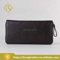 2016 OEM Popular men wallet handmade leather clutch bag