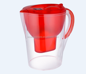portable 3.0L pitcher water filtration system 0.01 micron water filter