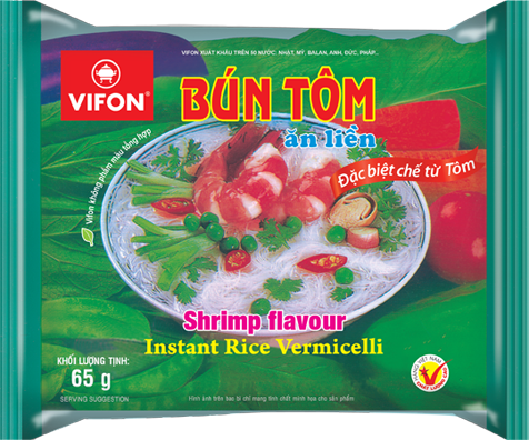 Healthy Shrimp flavour instant porridge
