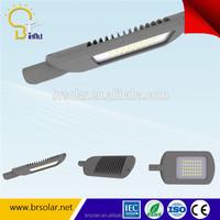 120 degree beam angle 3 modules IP66 90W solar LED street lamp