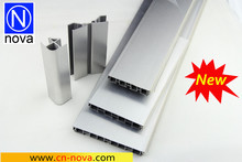 PVC Baseboard with Aluminum Face Kitchen Plinth