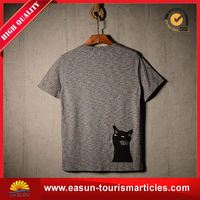 professional quality Japanese t shirt knitted cashmere t-shirt t-shirt collar men