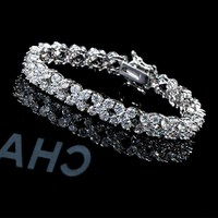 Special professional snake silver plated bracelets chains