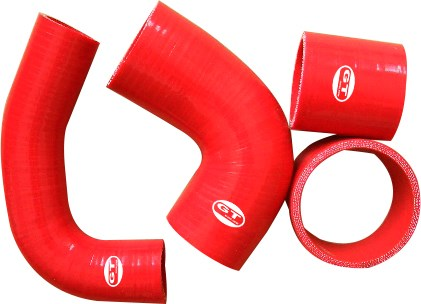 silicone hose kits for Impreza GC8 EJ20 2.0 STi Vers 3&4 97 / 98 4pcs