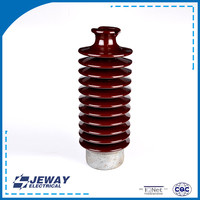 Electronic components line porcelain 57-5 post type electrical insulator