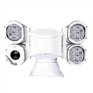 20x Zoom Waterproof 4 Housing 2MP 1080P HD-SDI PTZ Strong Light Camera For Fixed Point highway Road Surveillance