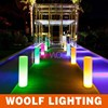 modern design wedding decor led column light