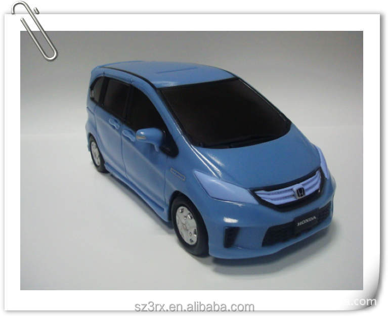 Custom your own plastic money bank/plastic car shape money box/lifelike car shape plastic piggy bank in factory