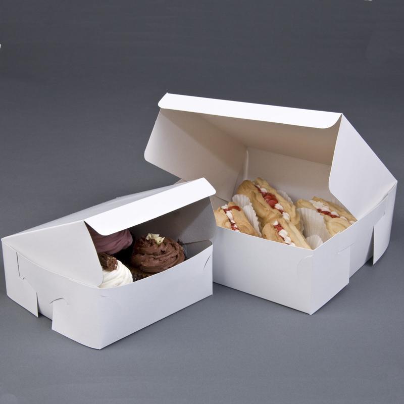 खाद्य ग्रेड कागज मुद्रण कस्टम लोगो केक बक्से बेकरी बक्से