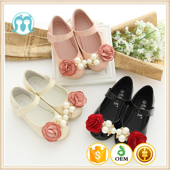 f5ca596ec189 One piece girls shoes for USA size 1-13 Baby girls shoes with rose flowers