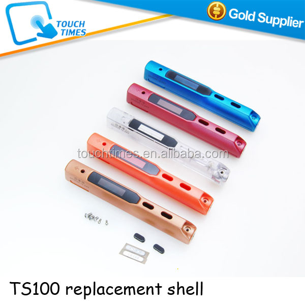Original TS100 Programmable Electric Soldering Iron Case Colorful Shell Replacement Parts