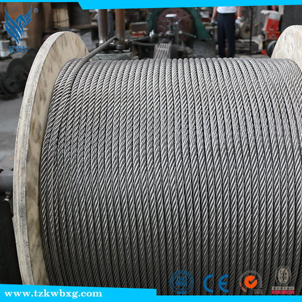 PVC SUS standard 410 cold drawn Stainless Steel wire rope
