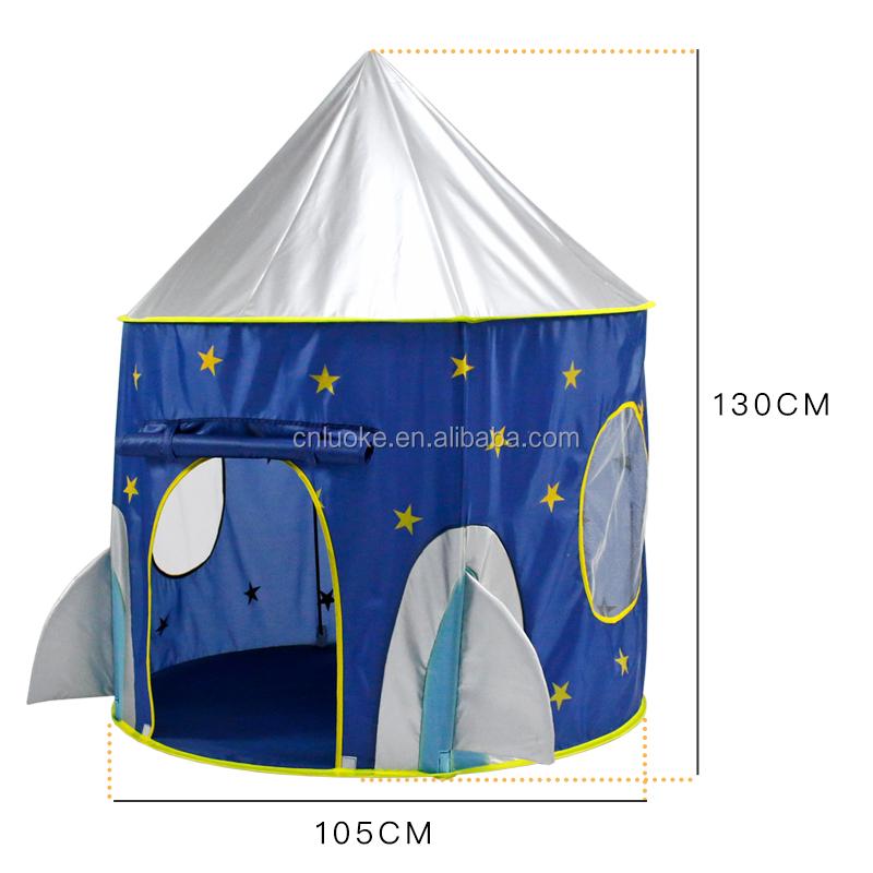Rakete Spielen Zelt Raumschiff Spielhaus Für Kinder - Buy Rakete ...