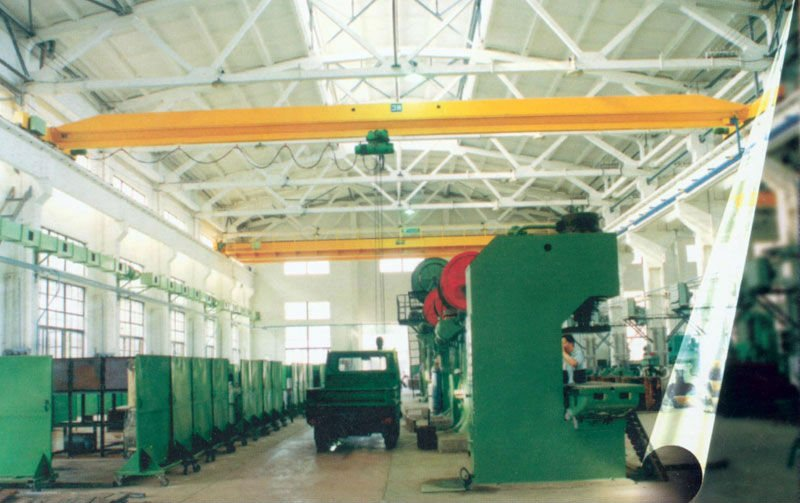 hot single girder steel mill workshop overhead eot crane for sale